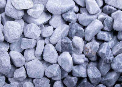 Zierkies Kristall-Blau