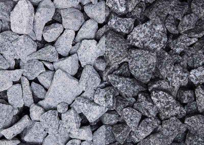 Ziersplitt Granitgrau