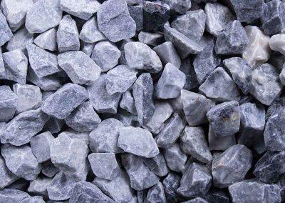 Ziersplitt Kristall-Blau