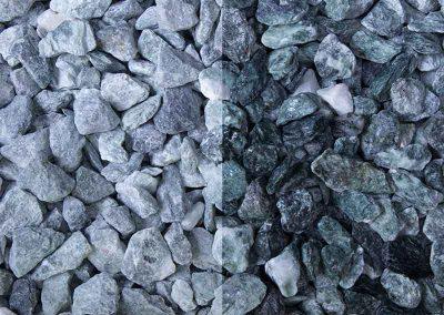 Ziersplitt Kristall-Grün