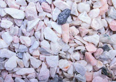 Ziersplitt Kristall-Rose